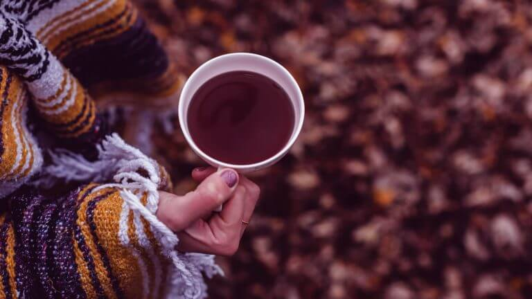 Offer your neighbor a mug of hot cocoa on a cold winter day